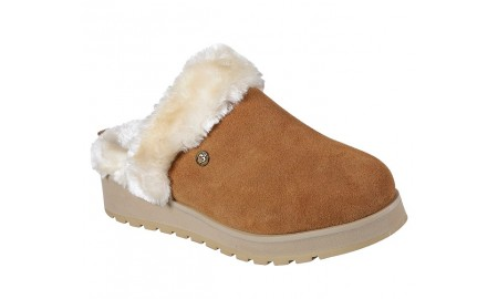 Skechers - Bobs Keepsakes High - Snow Magic Slippers - Chestnut